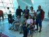 Naše cestovatelská skupina + Jana, která to fotí